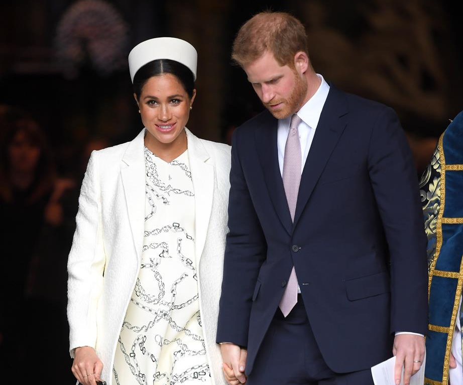 Fiona and David have joined the Sussex household, with the office based at Buckingham Palace. *(Image: Getty)*