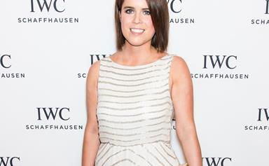 Princess Eugenie just shared an adorable throwback photo that shows she may have been planning her wedding for a long time