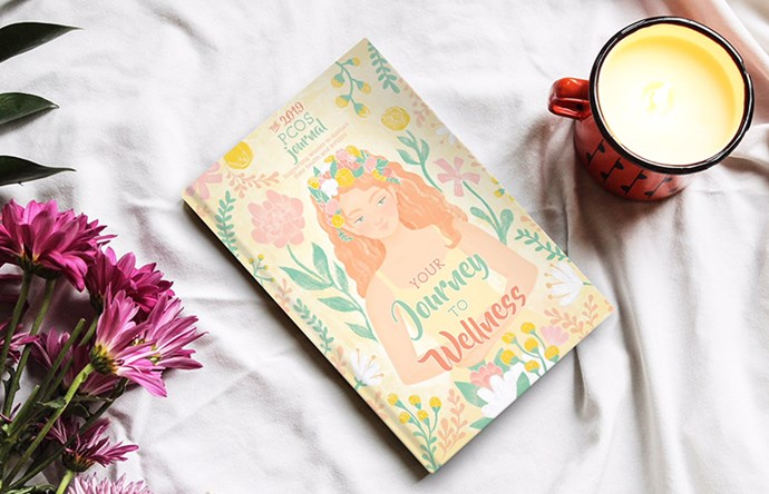Melissa's PCOS journal, *Your Journey to Wellness*.