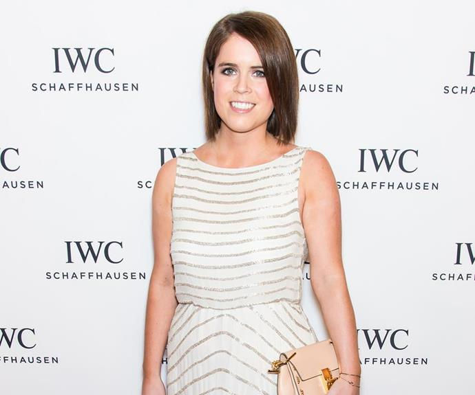 Princess Eugenie looked absolutely radiant as she attended the third annual 'For the Love of Cinema' dinner during the Tribeca Film Festival in New York in 2015. At the time the princess was living in New York and working for an online art action site called Paddle8. In July 2015 she moved back to London to start at the art gallery Hauser & Wirth, where she still currently works. *(Image: Getty)*