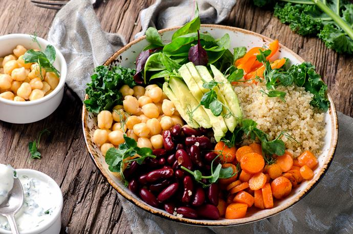 Replacing meat with vegetables and legumes is a great way to embrace flexitarianism. *(Image: Shutterstock)*