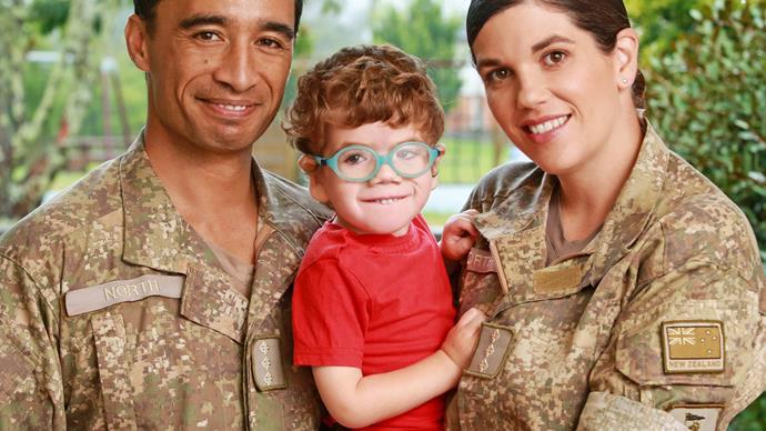 Laura and Tane North with son Elijah microcephaly zika virus