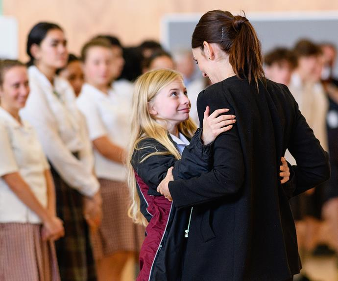 Jacinda Ardern Cashmere High School Christchurch Terror attacks