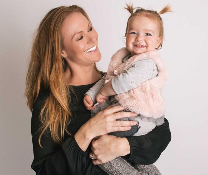 Tara and her daughter Wren