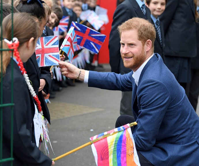 prince harry with children 2019