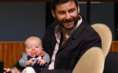 Clarke Gayford's touching tribute to Jacinda Ardern as he marks a milestone for baby Neve