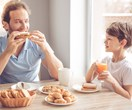 Children who eat breakfast with their parents are more likely to have a positive body image of themselves