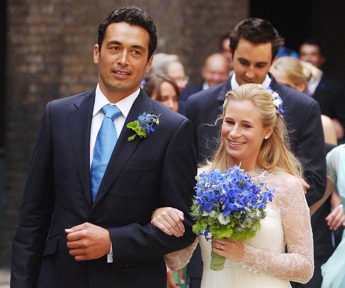 gary lewis and lady davina windsor wedding day