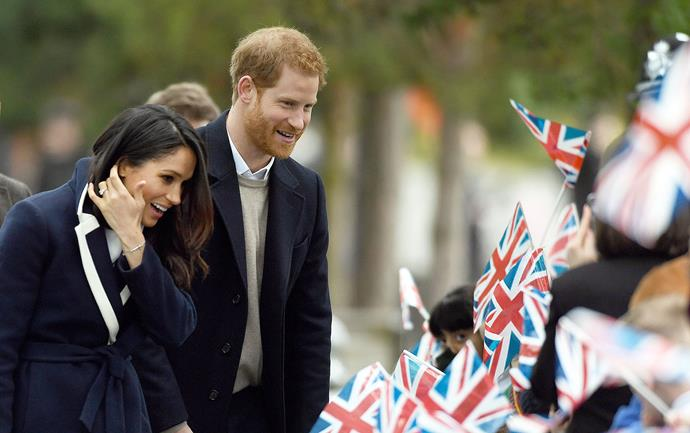 Meghan's taken some modern approaches to pregnancy, but there are a few royal traditions she'll have to adhere to. *(Image: Getty)*