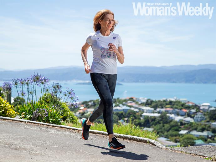 The global trailblazer loves hitting the hills above Wellington.