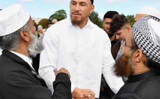 Sonny Bill Williams Muslim Community Christchurch
