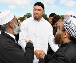 Sonny Bill Williams Muslim Community Christchurch