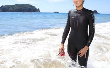 Meet the Coromandel woman whose magical swim with a family of Orcas made global headlines