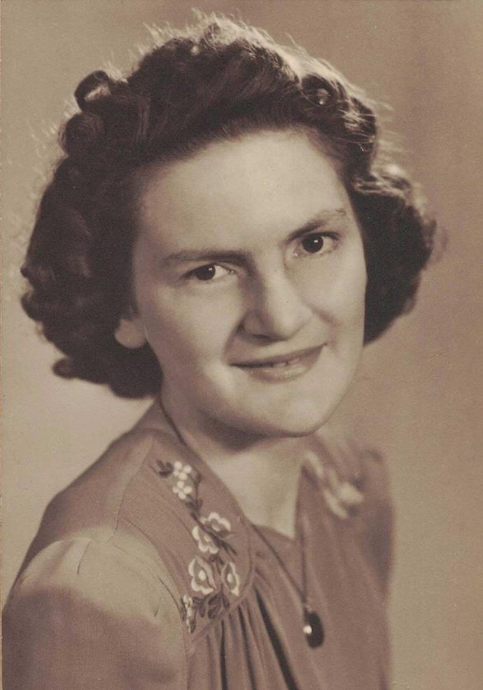 Muriel at age 21