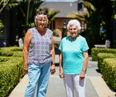 How the right retirement village enabled mum to be mum again