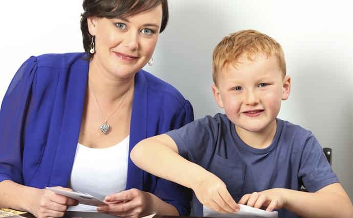 Hannah Rodgers and son Jayden Sending Love