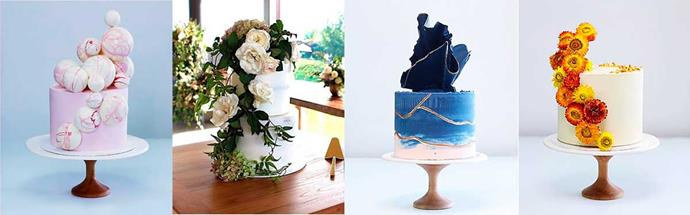 Sweet works of art! Initially sold at Saturday morning markets, Bets' spectacular cakes are now highly sought after.