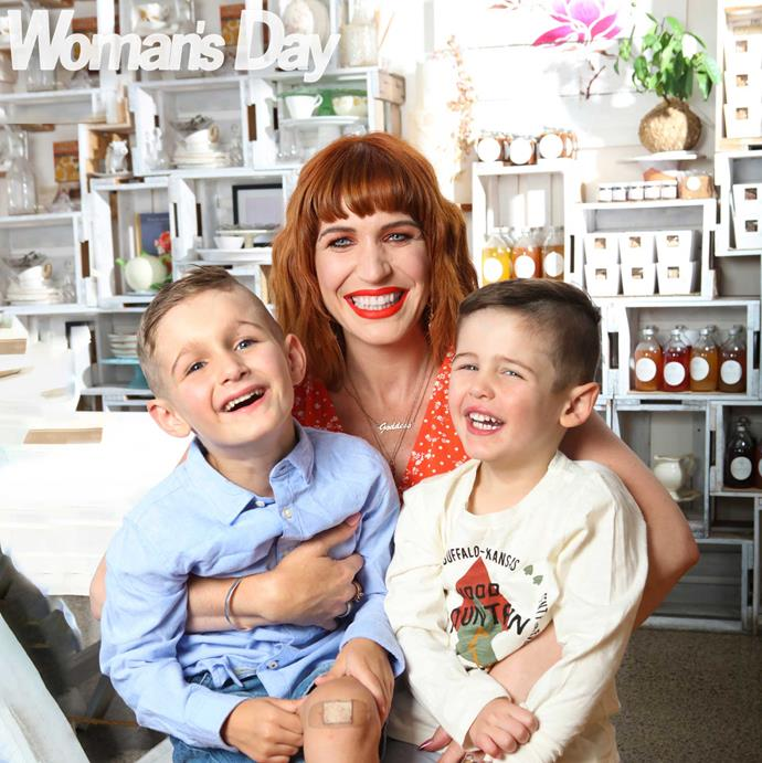 Although she loves making cakes, family comes first for Bets, who often shows off her kids' antics to her 181,000 Instagram followers.
