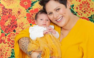 Anika Moa baby Marigold