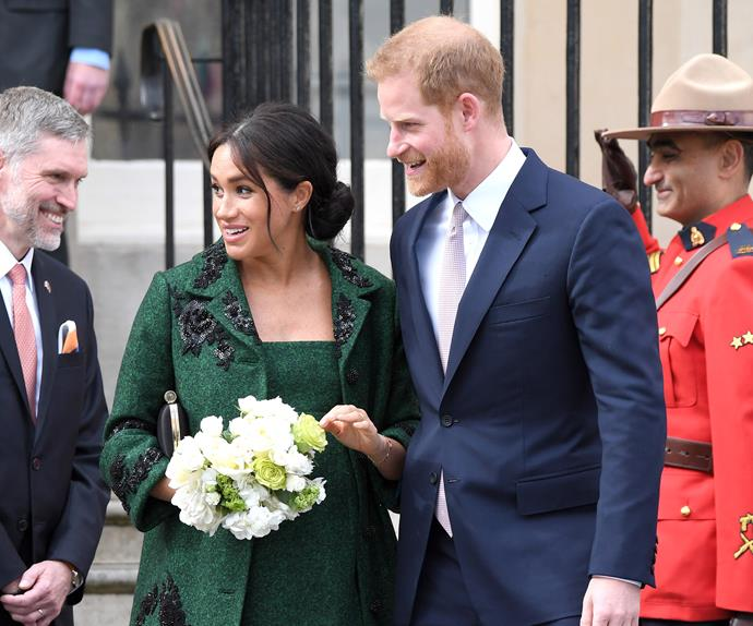 meghan markle and prince harry canada house 2019