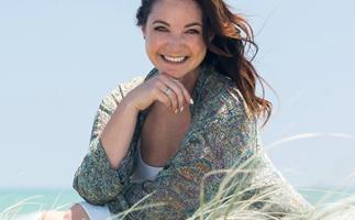Claire Chitham beach