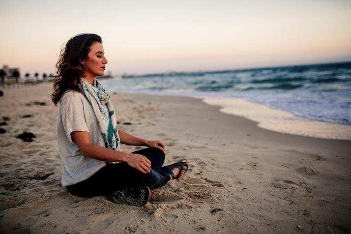 Elise says practicing mindfulness will help you break your bad habits, as you foster self-awareness. *(Image: Supplied)*