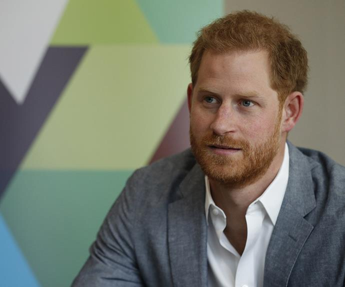 Prince Harry at YMCA for Heads Together