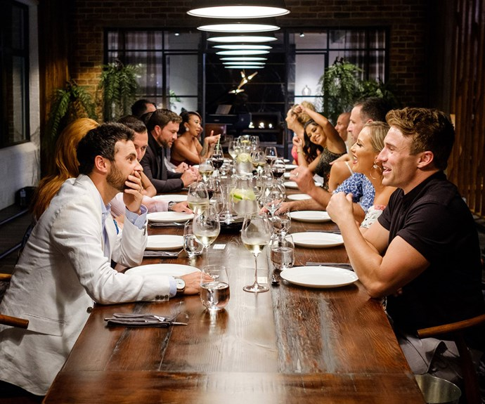 Married at First Sight dinner party
