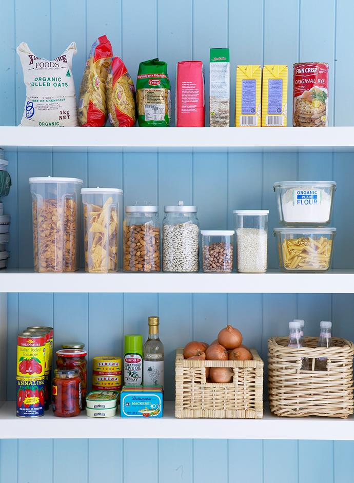 A well-stocked pantry is a crucial part of economical cooking *Image: Bauer Syndication*