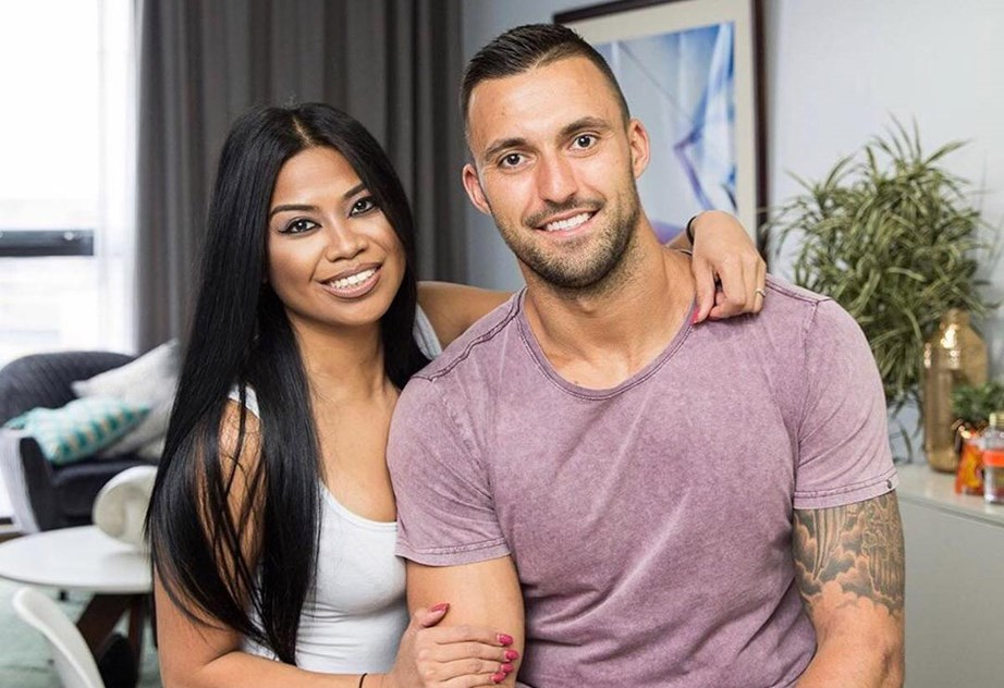 Things didn't work out between Cyrell and her on-screen husband Nic.