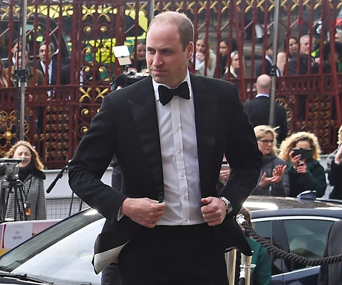 prince william at the natural history museum