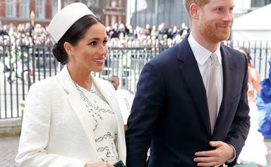Duchess Meghan and Prince Harry thank well-wishers for their 'incredibly special surprise'