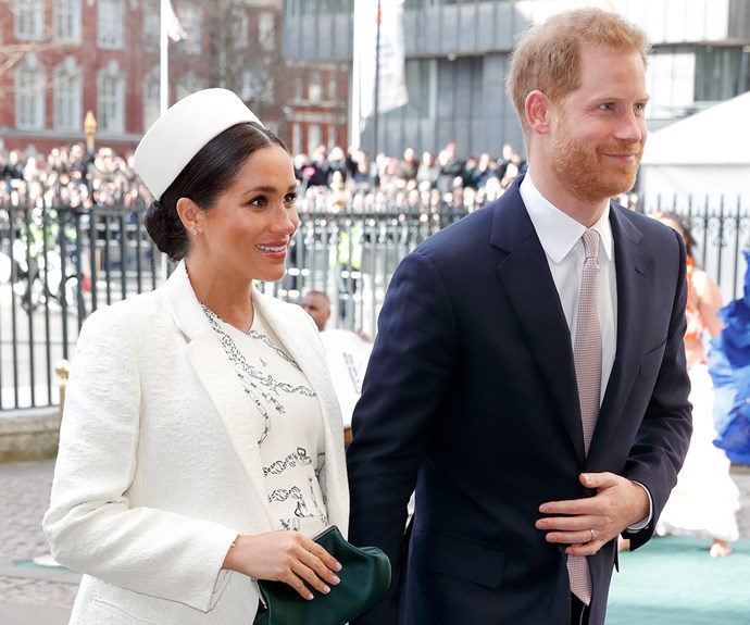 meghan markle and prince harry commonwealth day ceremony 2019