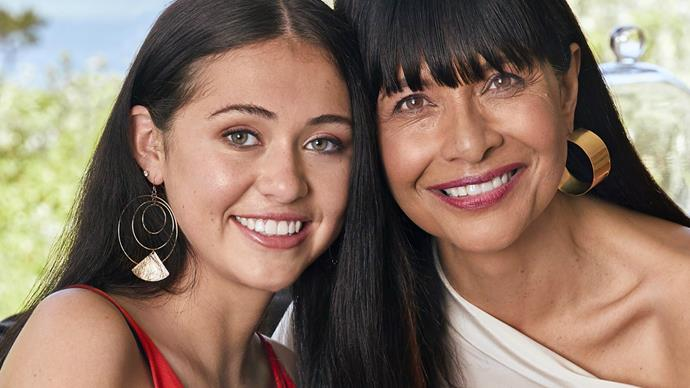 Carol Hirschfeld and daughter Rosa