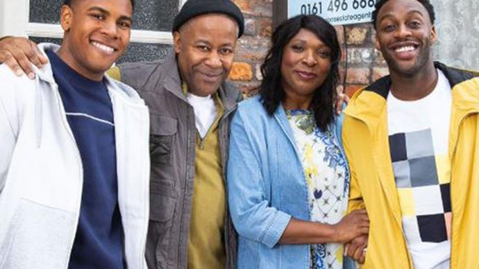 Coronation Street's first black family joins the cobbles
