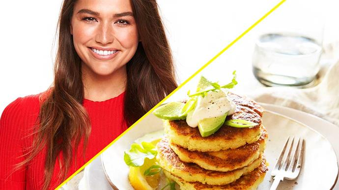 Cassidy in the Kitchen: Bravo NZ host Cassidy Morris shares her cauliflower fritter recipe