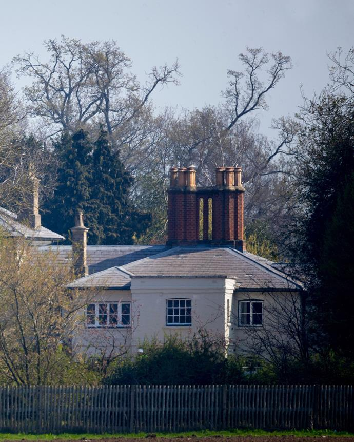 A first look at Frogmore Cottage after the extensive renovations. *(Image: Shutterstock)*