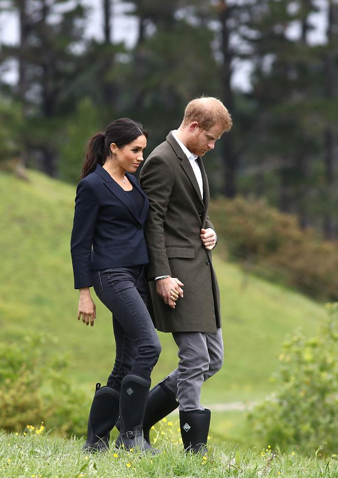 Meghan has previously said the 'farm-to-table ethos' has been something that had been ingrained in her from a young age thanks to growing up in southern California. *(Image: Getty)*