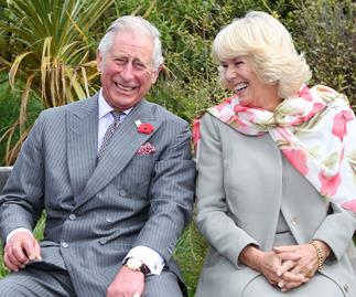 prince charles and camilla laughing