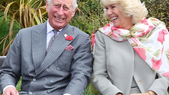prince charles and camilla laughing
