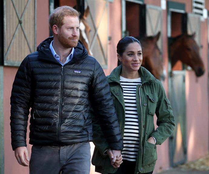 prince harry and meghan markle in morocco