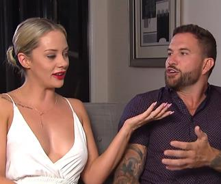 Married at first sight Jess Dan talking married fight