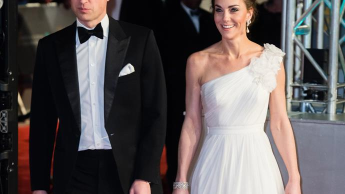 prince william and kate middleton BAFTAs 2019