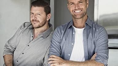 MKR's Manu Feildel and Pete Evans reflect on food, fitness, friendship