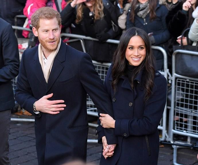 Prince Harry and Meghan Markle christmas