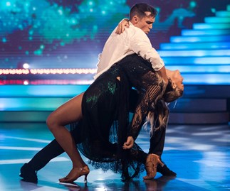 Brad Coleman and Anna Wilcox Dancing With The Stars NZ