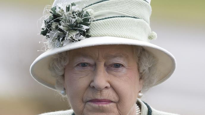 queen elizabeth II serious