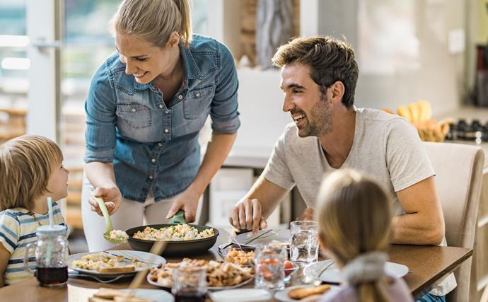 Family meal inspiration: Jo Seagar's 'loaves and fishes' approach to family meals