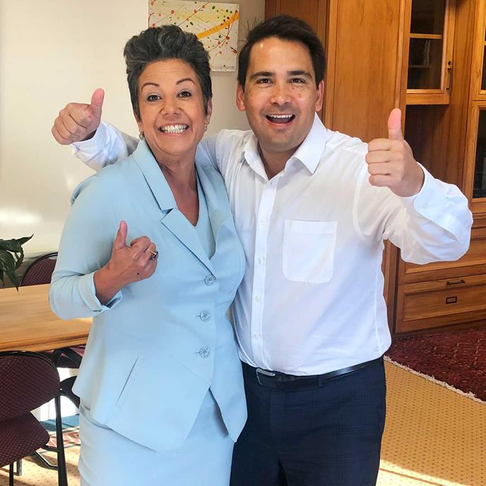 "Paula describes National leader Simon Bridges as "" a whole lot of fun to work alongside."""