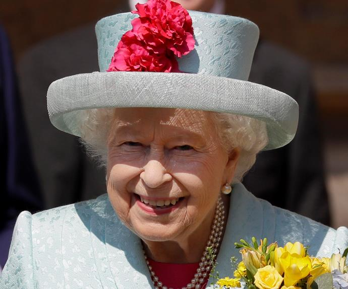 the queen easter service 2019
